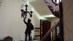 Stairway Statue