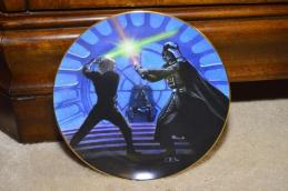 Star Wars Collector Plates sold on MaxSold